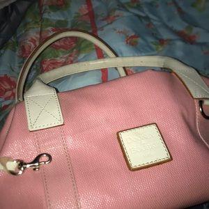 Dooney & Bourke baby pink 1975 vintage bag